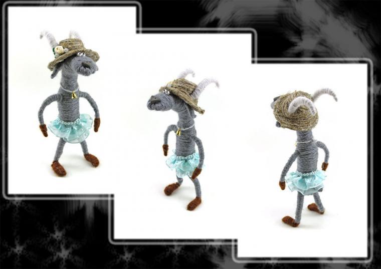 конфетка розыгрыш, новогодняя конфетка, конкурс коллекций, бесплатная доставка, козочка, козы, козерог, коза бесплатно