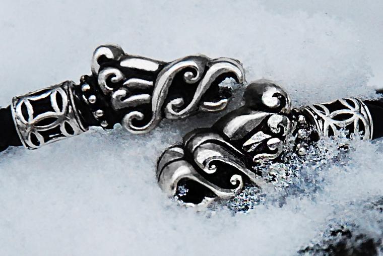 кельтский орнамент, ворон