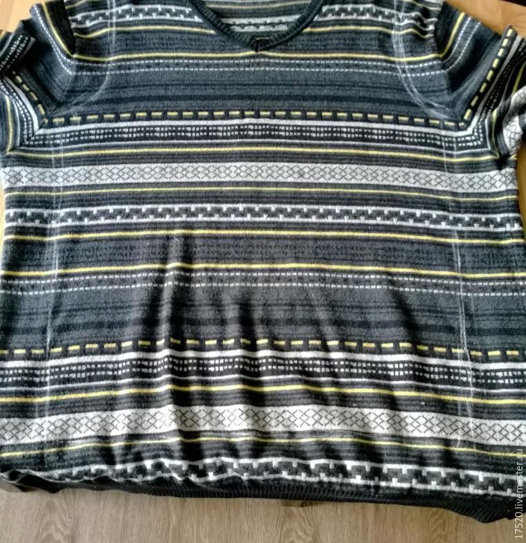 переделка свитера