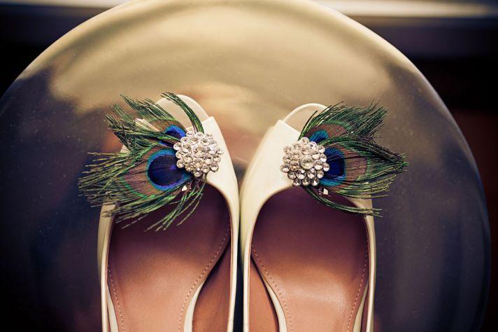 Украсить туфли на свадьбу