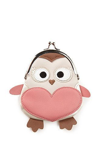 Sweetest owl coin purse.