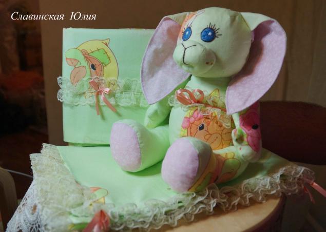 Постелька и погремушка для новорождённого., фото № 6