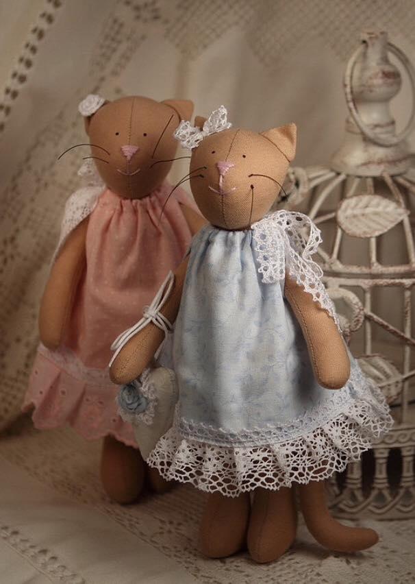текстильная кукла, своими руками