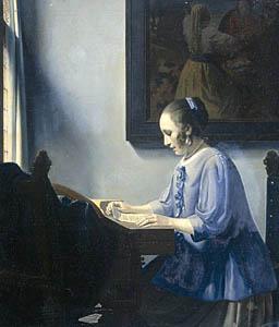 ван меегерен, картины, геринг, девушка за верджинелом, картина в подарок