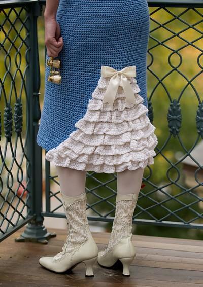 Ярмарка мастер класс юбка спицами фото #7