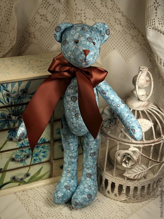 подарок своими руками, шитье, мишка ручной работы