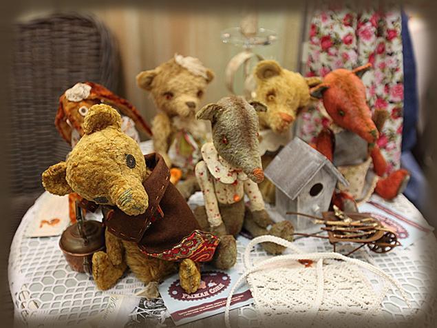 выставка-ярмарка, художественные куклы