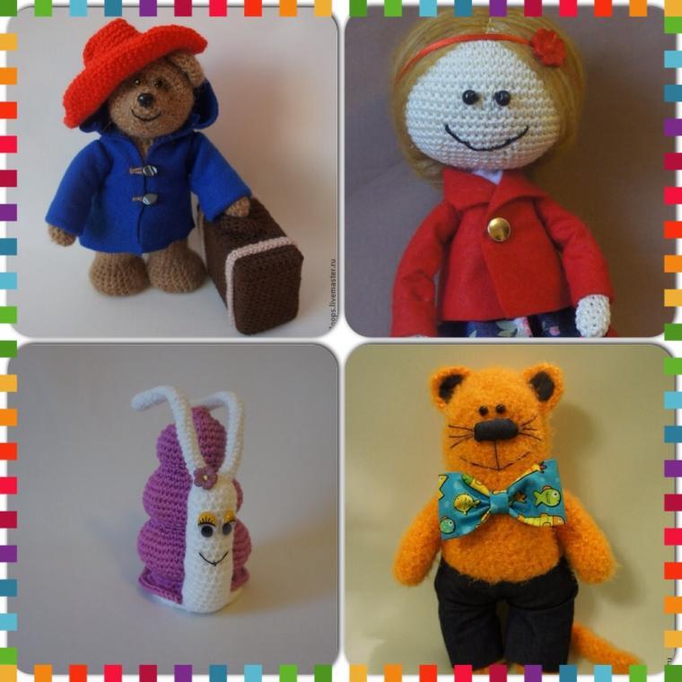 вязаная игрушка, вязаные игрушки, вязание для детей, игрушки, игрушка, кукла своими руками, кукла ручной работы, вязание