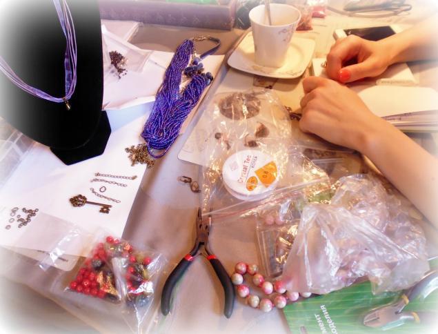 сборка бижутерии, браслеты