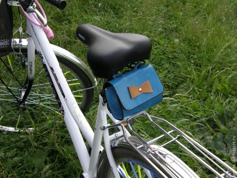 Бардачок для велосипеда своими руками 9