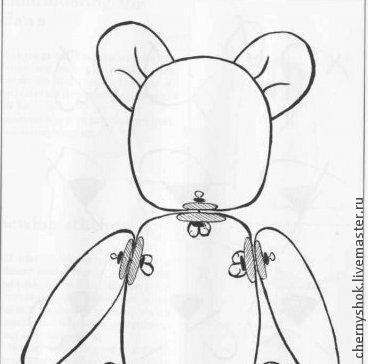 Маленький кротик (описание вязания), фото № 1