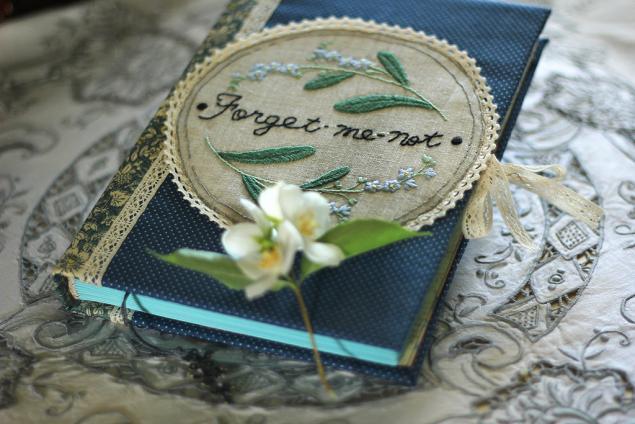 блокнот текстильный, личный дневник, подарок подруге