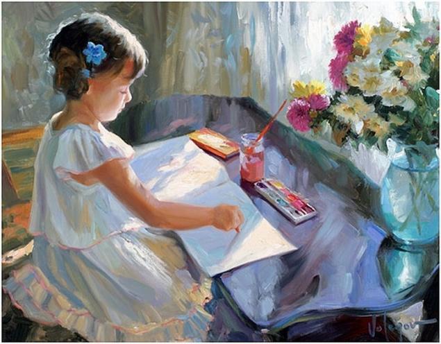 обучение живописи, обучение english