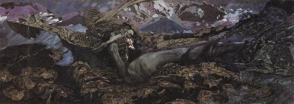 демон, картина
