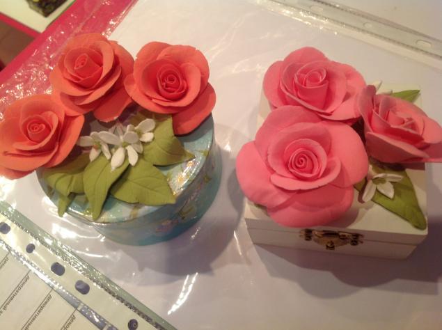мк по глине, мк цветы, мк цветы из глины, мк deco, мк по цветам из глины, розы, розы из глины