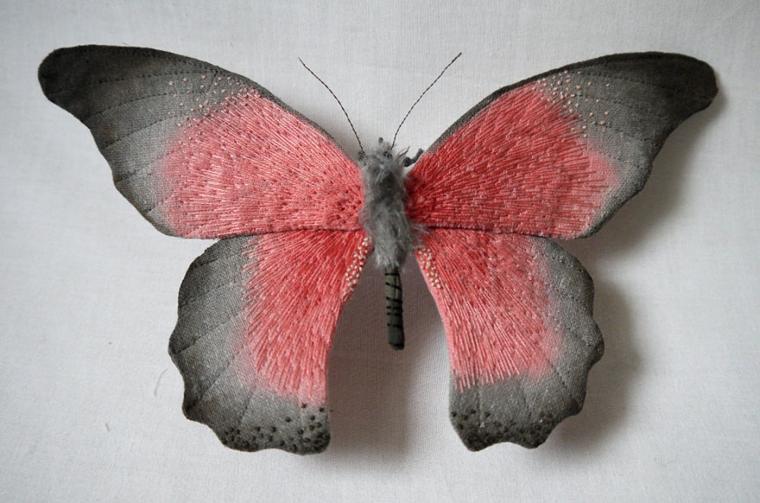 Текстильные шедевры, или Бабочки как источник вдохновения, фото № 43