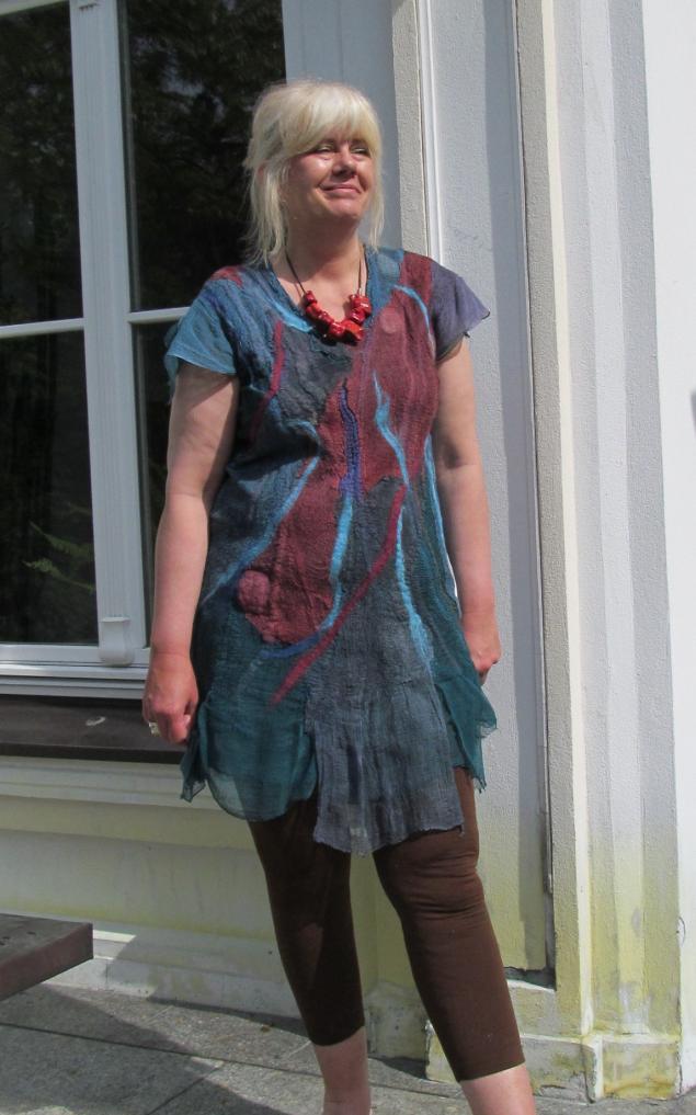 валяние платья