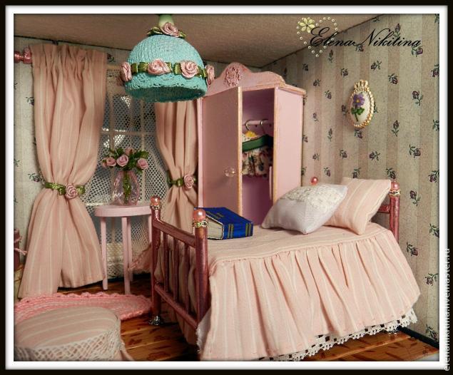 Люстра для кукольного дома