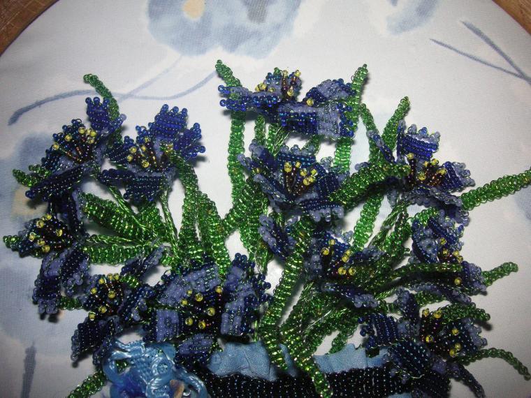васильки, картина цветов
