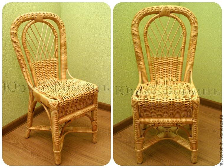 Мастер-классы по плетению мебели
