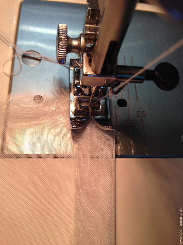 Как подшить тюль в два счета - Ярмарка Мастеров - ручная работа, handmade
