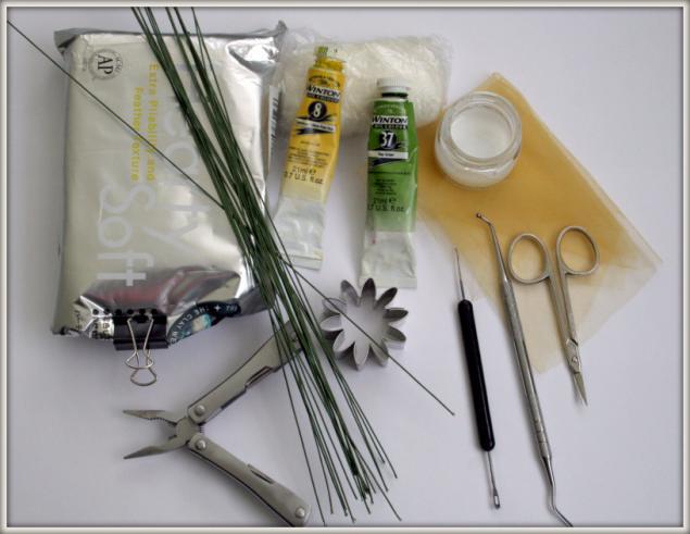 Как сделать инструменты для холодного фарфора