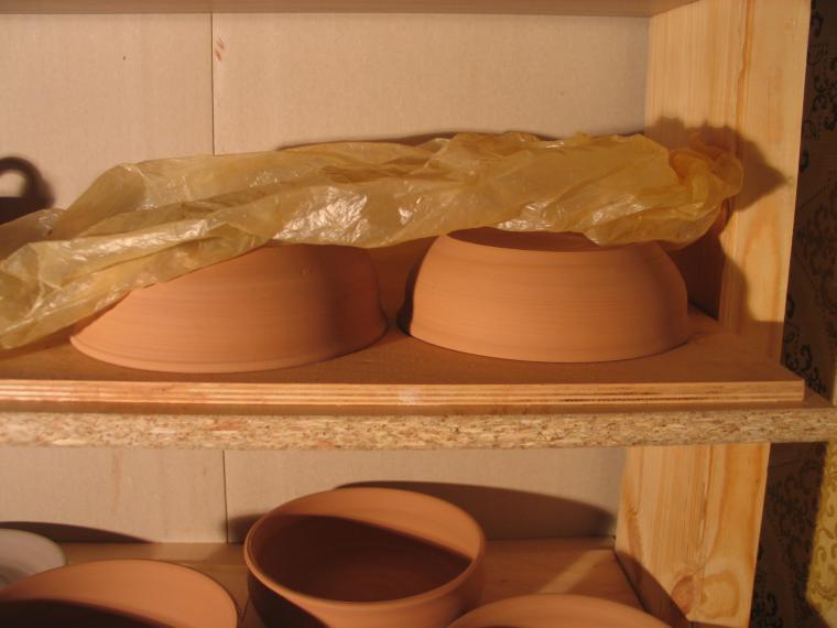 гончарная керамика, мастерская художницы