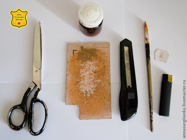 Делаем маленькие розочки из кожи, как заготовки для украшений - Ярмарка Мастеров - ручная работа, handmade.