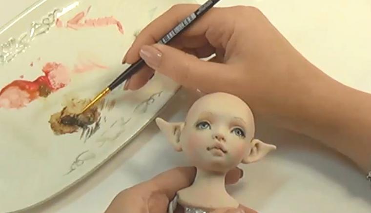 Куклы из полимерной глины своими руками фото