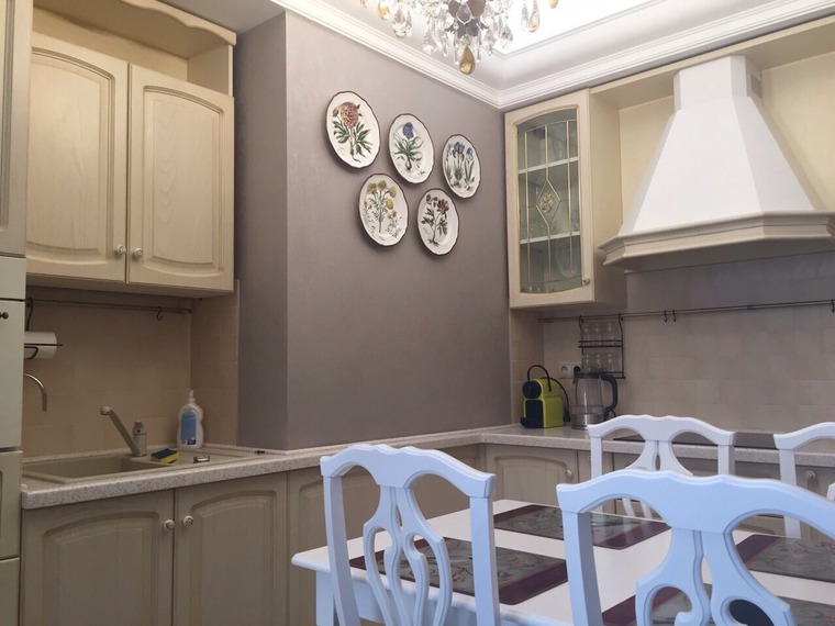 Декорирование стен тарелками, фото № 39
