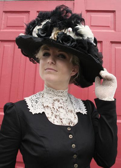 Женские шляпки 19 века