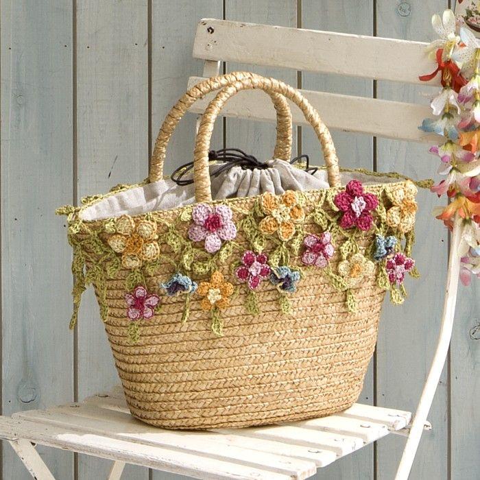 Crocheted Bags  Designers  Fertile Imagination – Livemaster