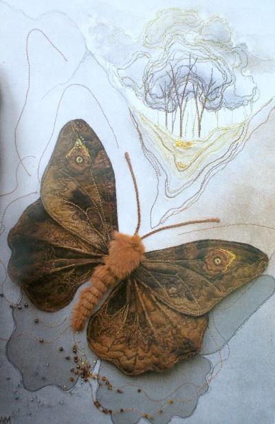Текстильные шедевры, или Бабочки как источник вдохновения, фото № 8