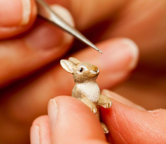 деревянные животные, маленькие мыши