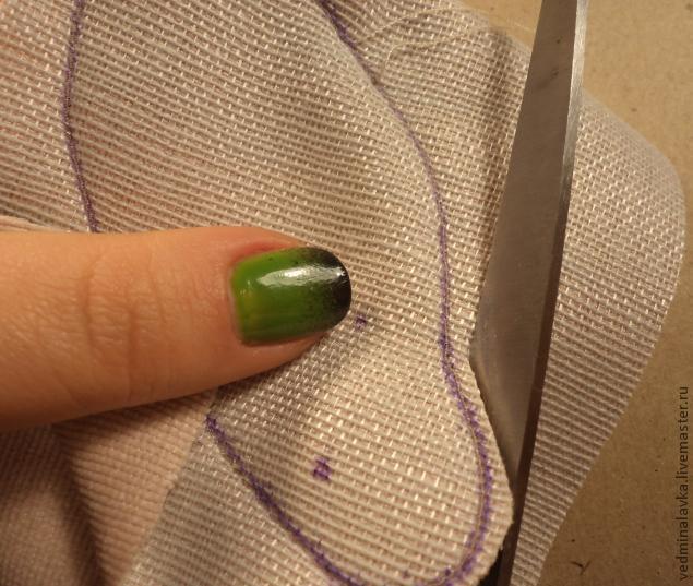 Текстильная брошь-мотылек, фото № 11