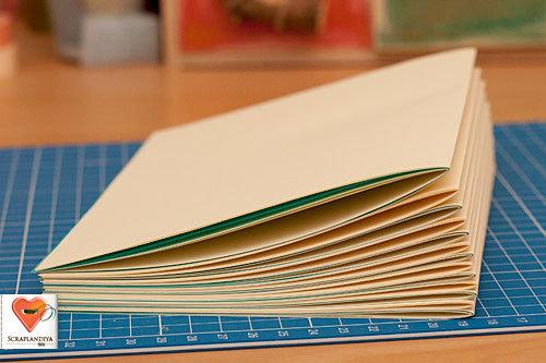 Как сделать большую книгу своими руками видео из бумаги