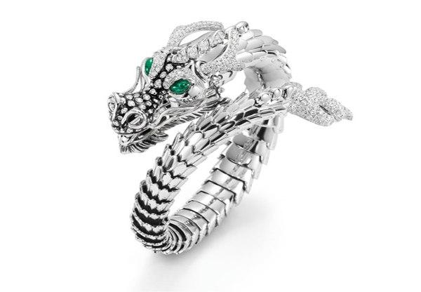 дракон, бриллианты