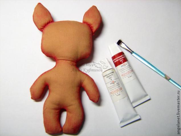 МК шьём игрушку-сувенир