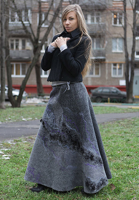 Мастер классы по валянию юбки