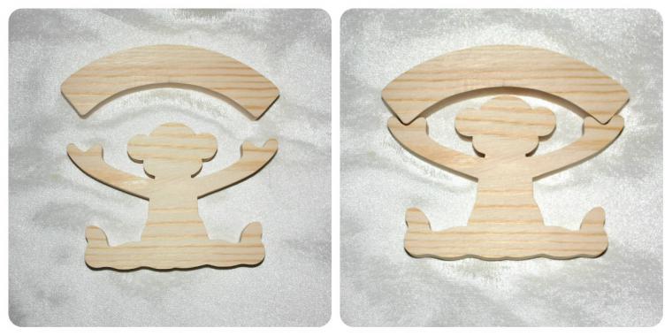 Символов 2016 года из дерева своими руками