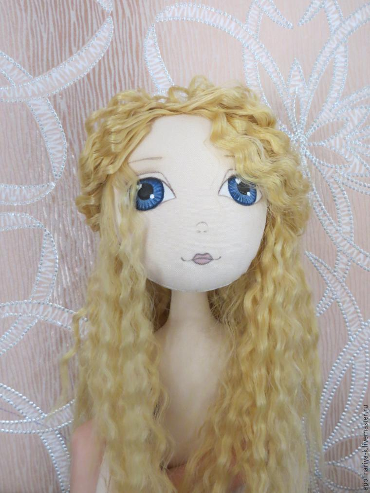 Как сделать красивые кукольные кудри из искусственных трессов, фото № 6