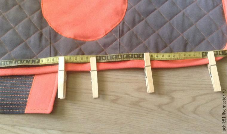 Turning Father's Trousers into a Height Chart for Kids, фото № 11