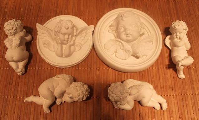Ангелочки своими руками из гипса