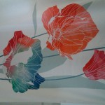 цветочный принт из студии