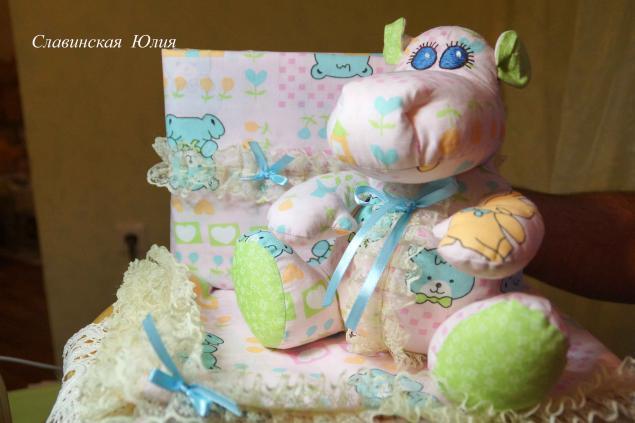Постелька и погремушка для новорождённого., фото № 7