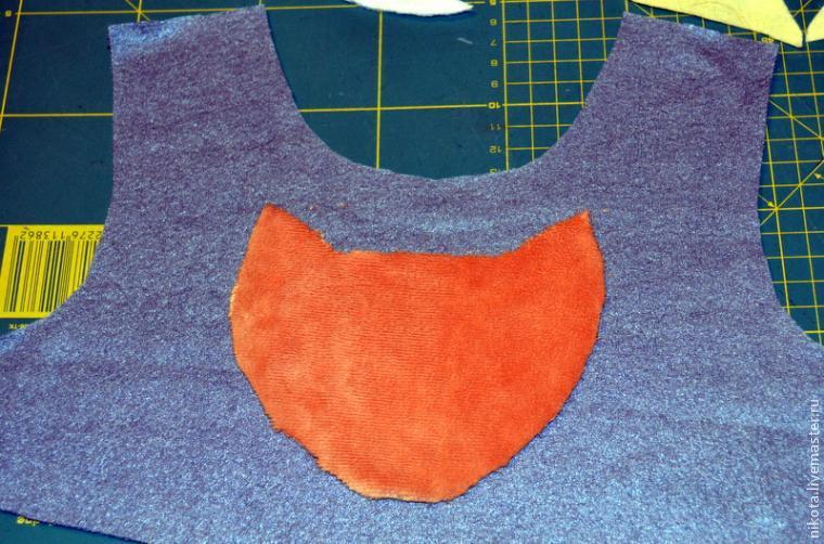 Делаем аппликацию на детской одежде, фото № 4