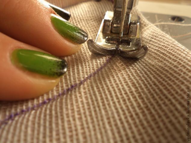 Текстильная брошь-мотылек, фото № 10