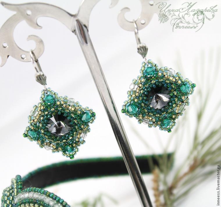 Мастер классы по плетению кристаллами