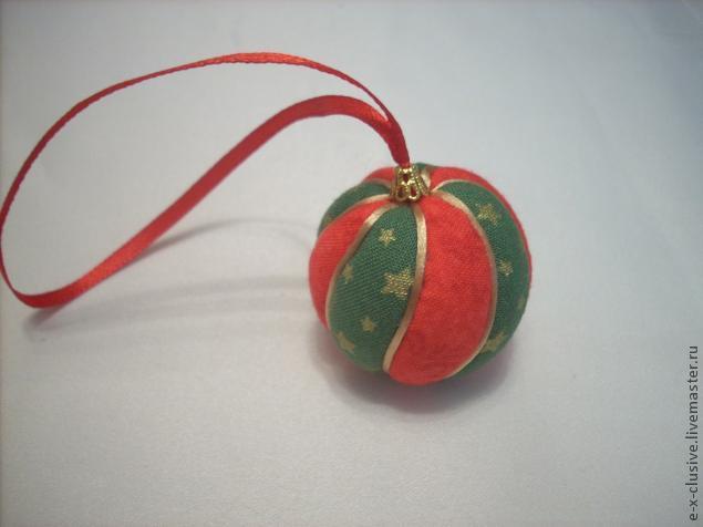 Елочные шары в технике кимекоми, фото № 19