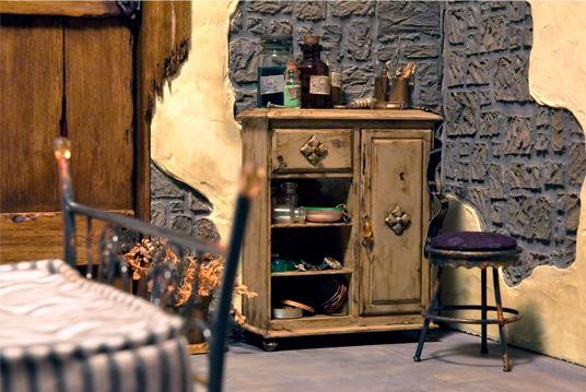 Невероятные кукольные домики и интерьеры Hila Rosenberg. Часть 2, фото № 10